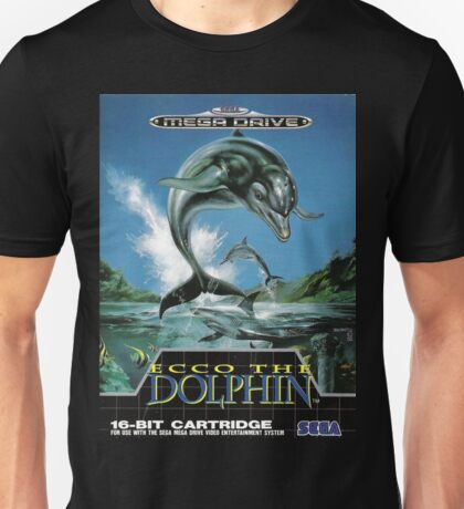 Ecco the Dolphin Mega Drive Cover Unisex T-Shirt