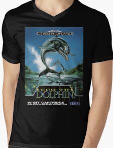 Ecco the Dolphin Mega Drive Cover Mens V-Neck T-Shirt