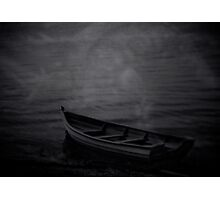 The Haunted Rowboat Photographic Print