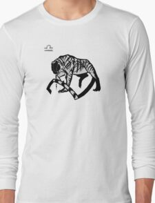 DoubleZodiac - Libra Tiger Long Sleeve T-Shirt