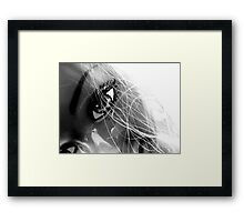 Shiny Happy Plastic Framed Print