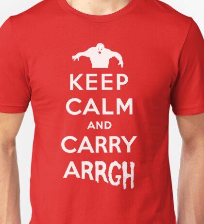 Keep Calm and Carry Arrgh! Unisex T-Shirt
