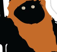 Ewok Bear, Star Wars Sticker