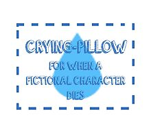 CRYING PILLOW by thescudders