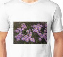 Hoary Tansyaster-Signed-#9698 Unisex T-Shirt