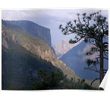 Yosemite Diagonals Poster