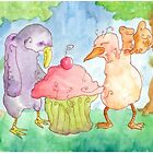 Two Characters In Search Of A Cupcake by Jonathan Arras