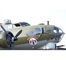 B-17 Flying fortress Photographic Print