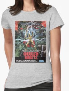 Ghouls n' Ghosts Mega Drive Cover Womens Fitted T-Shirt