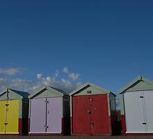 brighton beach huts by sofiesofie