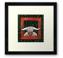 Elmar scents florets - window X Framed Print