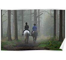Riding out in mistery land Poster