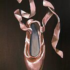 Single Pointe shoe 2 by Rachelle Dyer