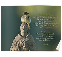 Prayer for Pets Poster