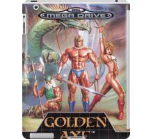 Golden Axe Mega Drive Cover iPad Case/Skin