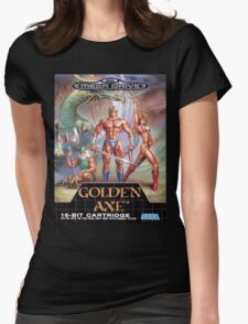 Golden Axe Mega Drive Cover Womens Fitted T-Shirt