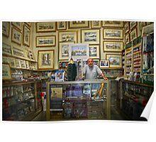 The art-shop in Valletta,Malta. Poster