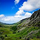 Landscape view of Snowdonia by Selina Ryles