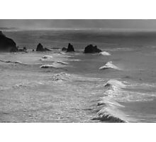 Volcanic outcrops off the Pacific Coast 1 Photographic Print
