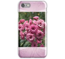 Pink Rose Bouquet For A Friend iPhone Case/Skin
