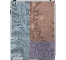 Ouija Phone iPad Case/Skin
