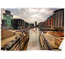 Clarence Dock Leeds Poster