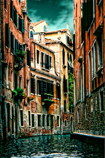 *The Quiet Canal, Venice* by Colin Metcalf