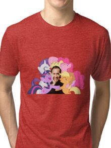 Nic and His Girls Tri-blend T-Shirt