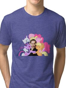 Nic and His Girls Tri-blend T-Shirt