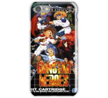 Gunstar Heroes Mega Drive Cover iPhone Case/Skin