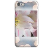 Lily With Border iPhone Case/Skin