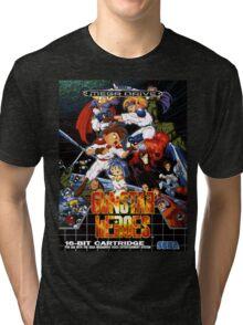 Gunstar Heroes Mega Drive Cover Tri-blend T-Shirt