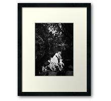 Remember Road Trips Oregon Historical River 431 Framed Print
