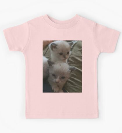 Two Adorable Kittens Kids Tee
