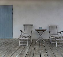 Lounge Chairs & Door by Madeleine Forsberg