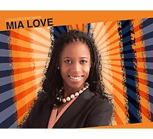 Congresswoman Mia Love Photographic Print