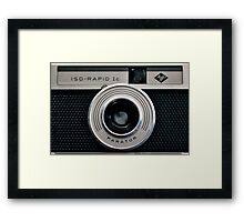 AGFA ISO-RAPID Ic Framed Print
