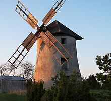 Old windmill by Madeleine Forsberg