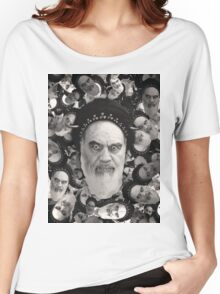 Horned Ayatollah Monsters Women's Relaxed Fit T-Shirt
