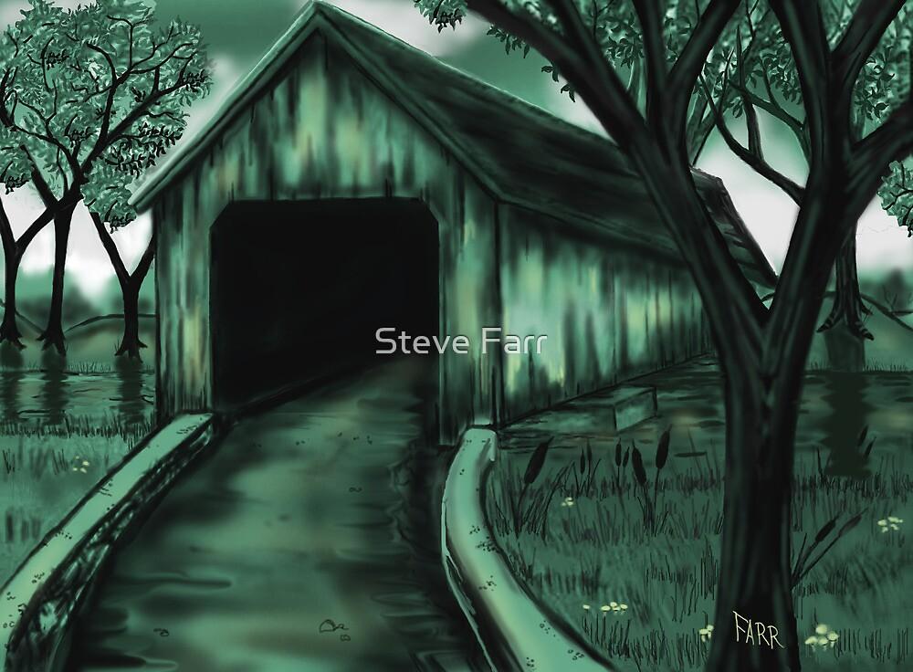 """The Covered Bridge"" by Steve Farr"
