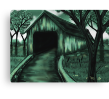 """The Covered Bridge"" Canvas Print"