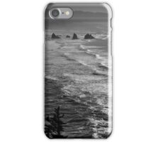 Offshore rocks viewed from Cape Meares 2 iPhone Case/Skin