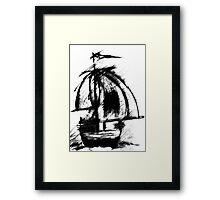 Sail Away by CG Framed Print