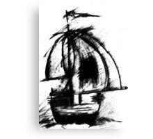 Sail Away by CG Canvas Print