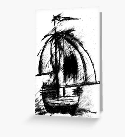 Sail Away by CG Greeting Card
