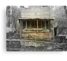 A Look Back in Time, The Old War Eagle Mill Store Canvas Print