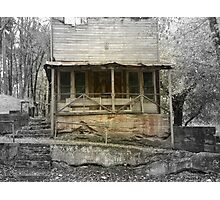 A Look Back in Time, The Old War Eagle Mill Store Photographic Print