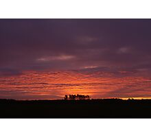 Sunrise over Dunwich Heath Photographic Print