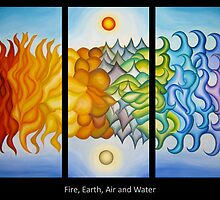 Fire, Earth, Air and Water by Keith Nesbitt