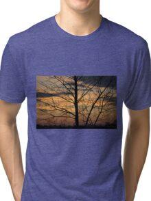 Technicolor Skies Tri-blend T-Shirt